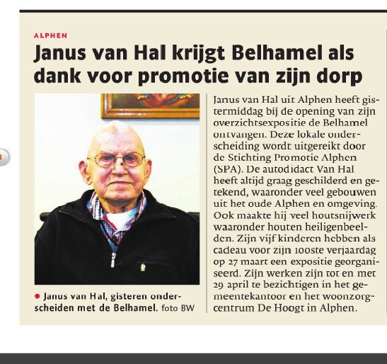 Brabants Dagblad 27-2-2016